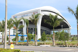 Marlins Park Stadium