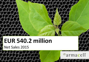 Armacell Net Sales Up in 2015