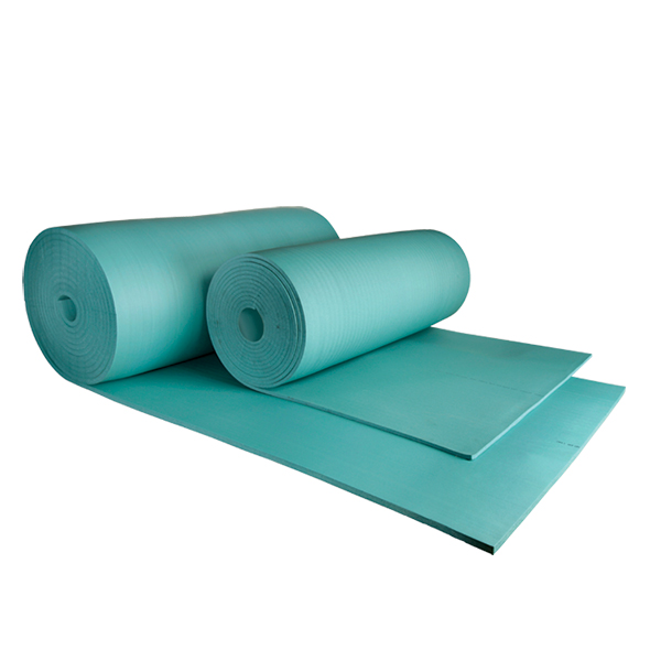 Blue Component Foam Roll Material