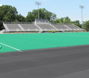 ArmaSport Turf Underlayment and AstroTurf on Duke University Field Hockey Pitch