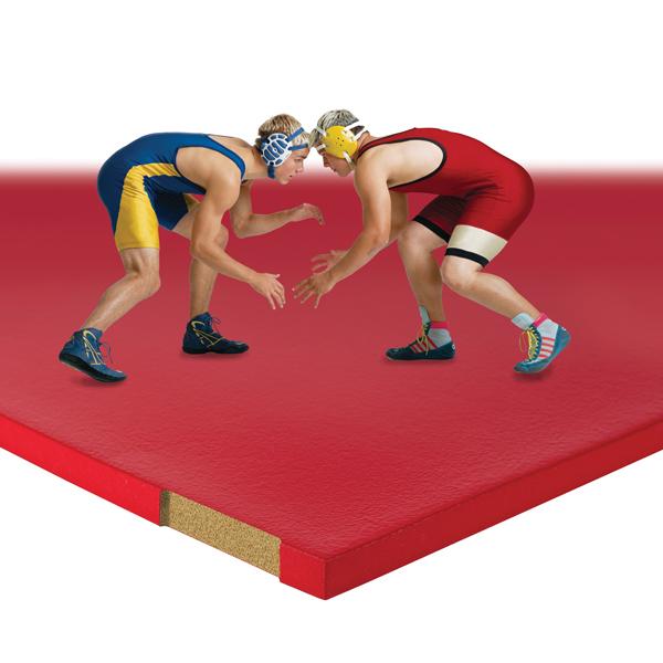 Wrestling Mat Cutaway